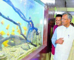 aquarium-inaguration-dehradun-zoo