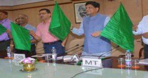 dehradun-kathgodam-jan-shatabdi-flag-off