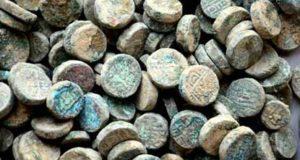 copper-coins-asi-dig-new-delhi
